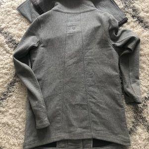 High neck gray Lululemon jacket